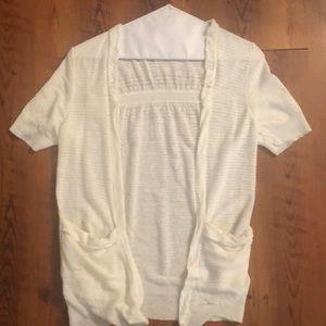 Short Sleeve Cardigan by LOFT